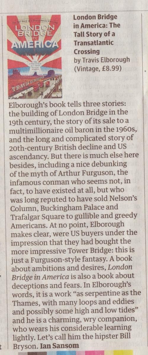 The Guardian Saturday Review - Paperbacks