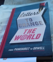 Letters to Change the World, finished copy